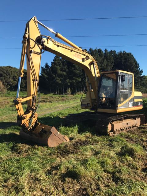 Cat 311 Amp 312 Excavators The Farmer Choose Of Excavators In Nz