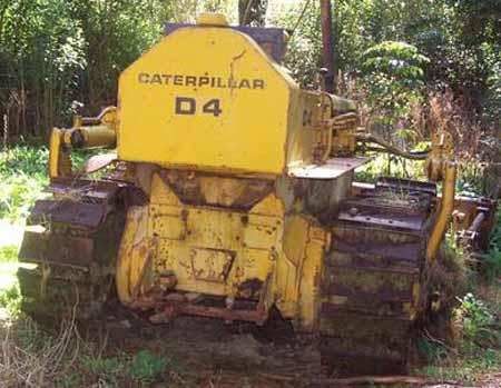 Caterillar D4-7U series bulldozer