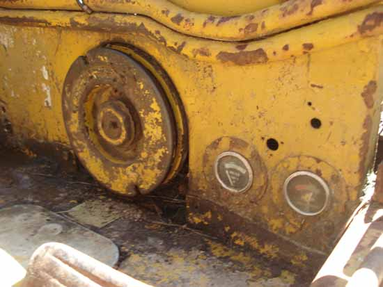 Caterpillar D4 7u Series Bulldozer We Are Restoring In Nz