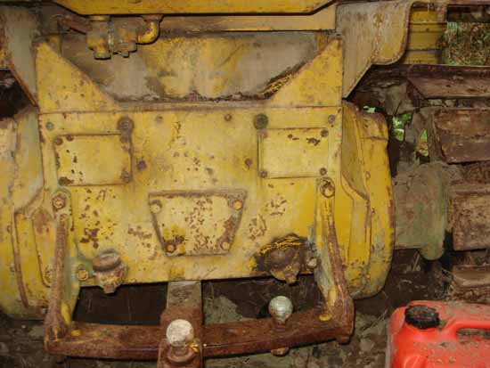 Caterpillar D4-7U series bulldozer