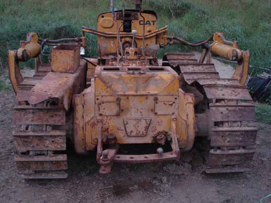Caterpillar D4 Series Bulldozer How To Remove Steering