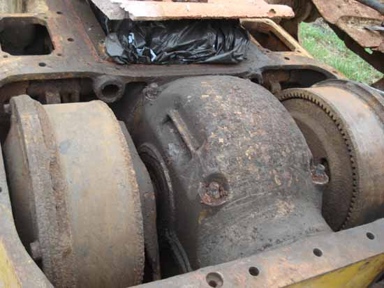 Caterpillar D4 Series Bulldozer Steering Clutch