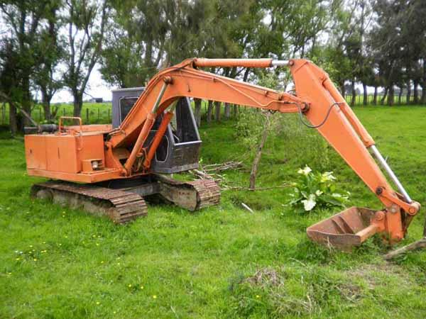 Hitachi Uho41 Excavators Slew Turning Problems